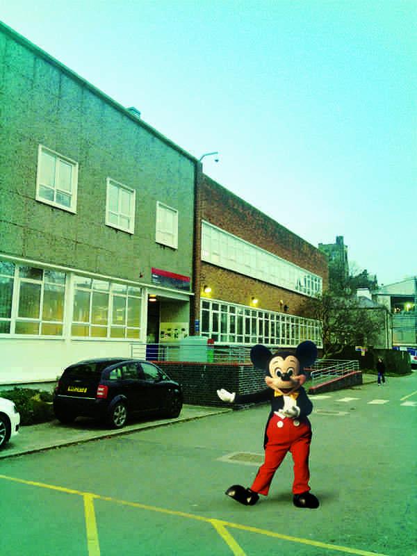 Uni Shot Mickey